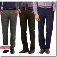 Sopclues: Buy Gwalior Suiting Combo of 3 Unstitched Trousers at Rs. 399