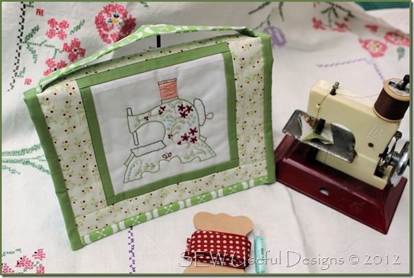 Vintage sewing caddy 2
