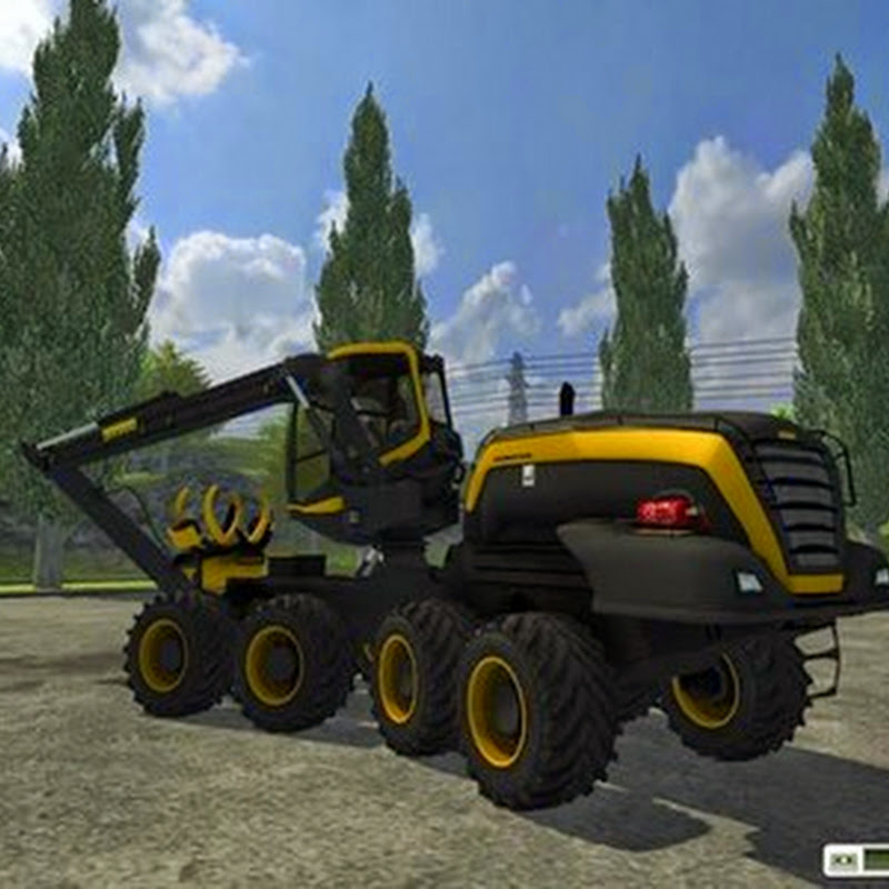 Farming simulator 2013 - Ponsse Scorpion with downhill v 0.9 beta