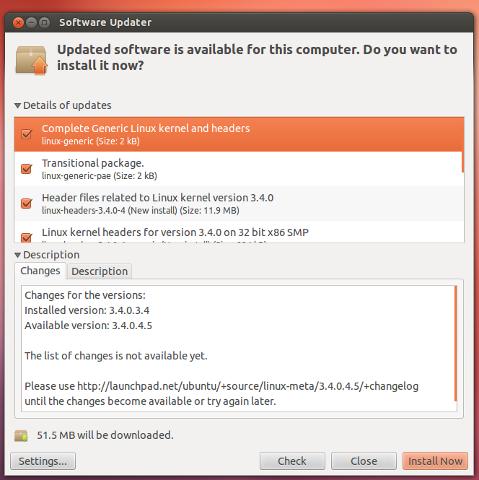 Ubuntu 12.10 nuovo gestore degli aggiornamenti