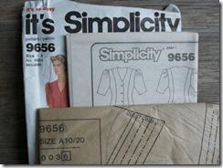 Simplicity pattern 9656