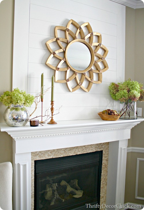 decorating a mantel