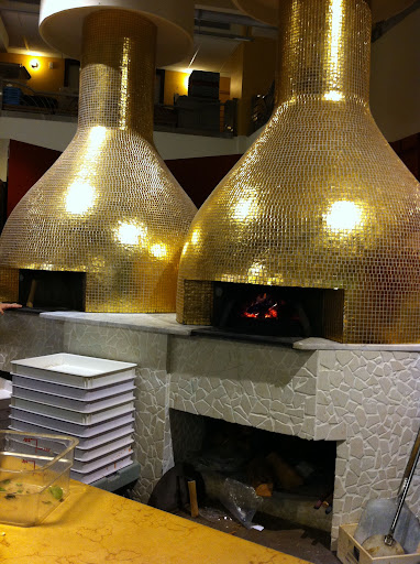 And the wood-fired pizza ovens.