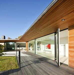 Foto: Kasper Dudzik. Beddingestrand 2011-10-10. Villa utmed sydkusten. Arkitekt Johan Sundberg.