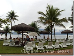Área de lazer Eco Resort Vila Gale Angra dos Reis_