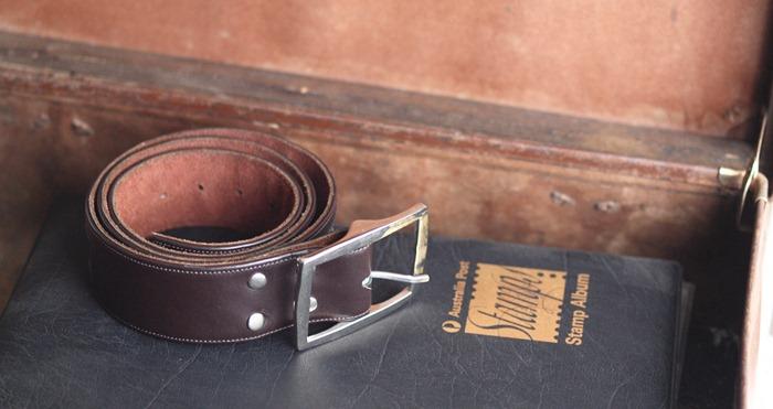 1. a belt