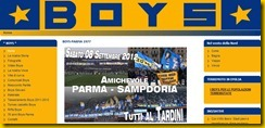 BOYS PARMA SAMPDORIA