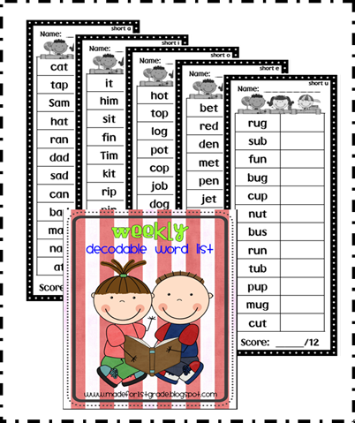 decodable word list