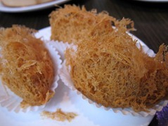 Fried Taro Croquette with Chicken Roast Pork & Prawn