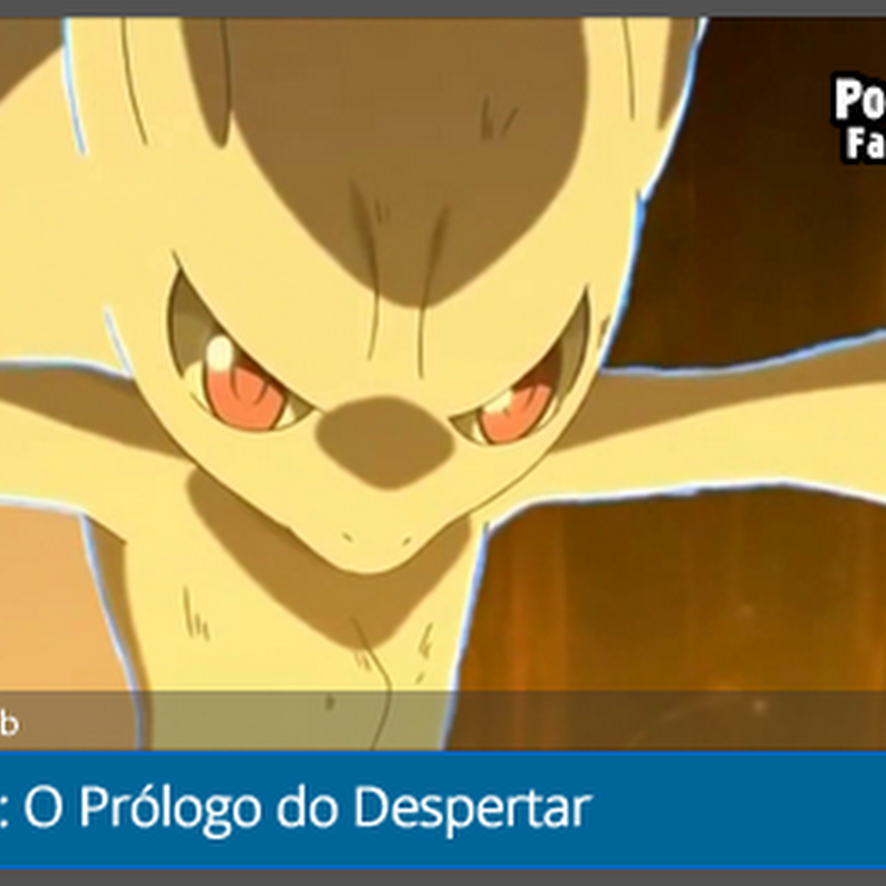 Fansub: O Prologo da Pocket