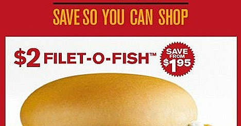 Mcdonalds burger offer 2 filet o fish chicken for Mcdonalds filet o fish deal