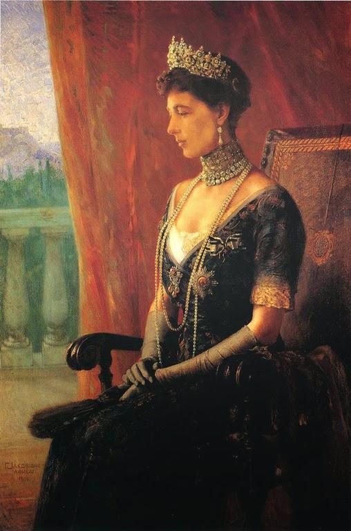 Reina Sofia de Grecia, nacida princesa de Prusia  ABUELA PATERNA DE SOFIA REINA DE ESPAÑA