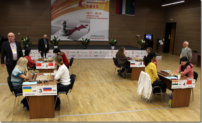 Quarter Finals, Women's World Chess Championship 2012, Khanty-Mansiysk, Russia