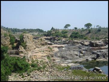 Chunchanakatte Falls in summer