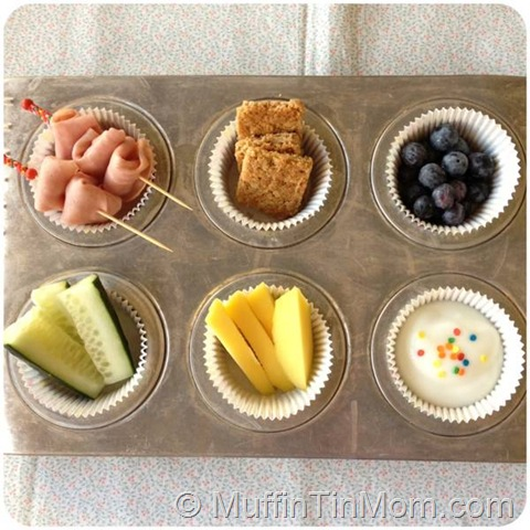 muffin tin meal picky toddler