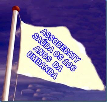 Bandeira Umbanda 100 1nos da Umbanda