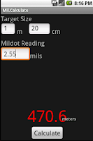 Screenshot of Mil.Calculate