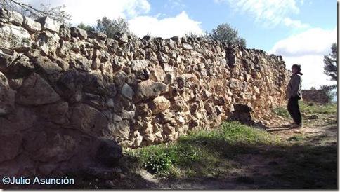 Murallas de la Bastida de les Alcusses - Mogente - Valencia