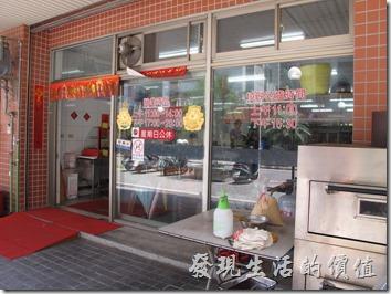 台南市的「金門館」座落在大林國宅的巷子內。