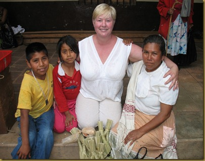 Shannon with woman & children