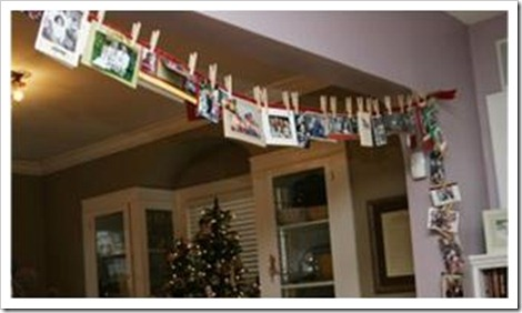 christmas card display 6