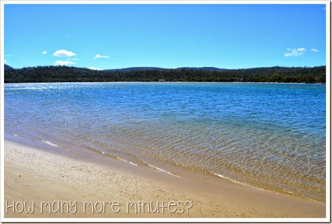 How Many More Minutes? ~ Nine Mile Beach Near Swansea, Tasmania
