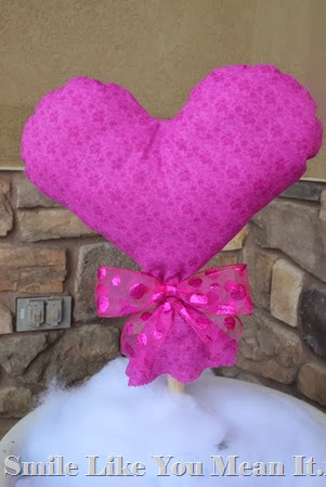 Heart Pillow Stick