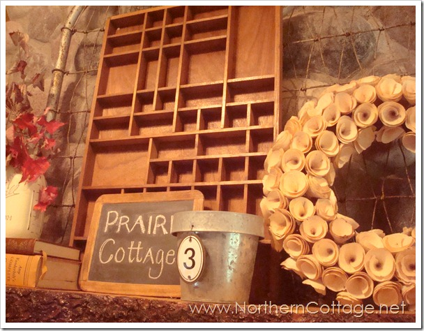layered mantel@NorthernCottage.net