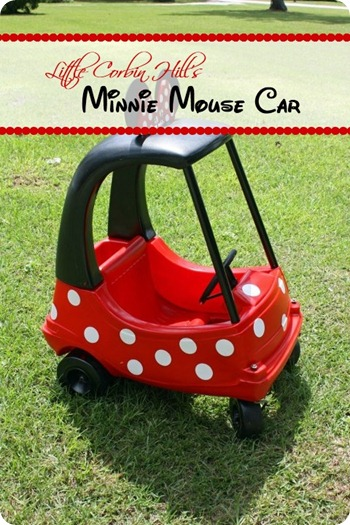 minnie mouse car preview