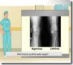 Jogos de médico ~ Operação no joelho