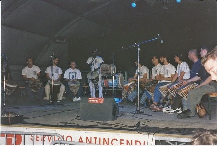 2000 - 3  concerto Djambé Mauro  4 giugno 1