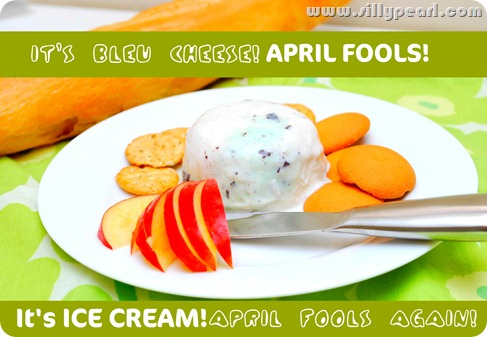 TCBY Frozen Yogurt April Fools
