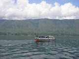 A final look at Samosir from the boat back to Parapat (Daniel Quinn, April 2011)