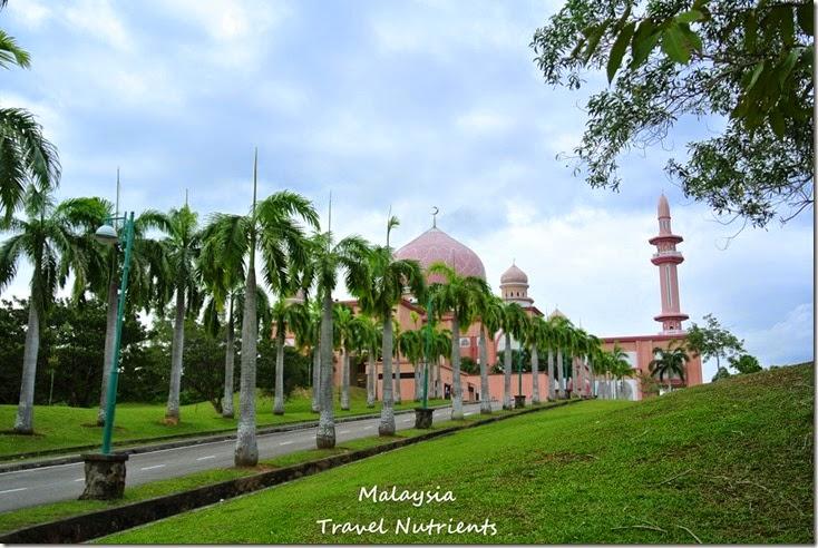 馬來西亞沙巴大學 粉紅清真寺 (24)