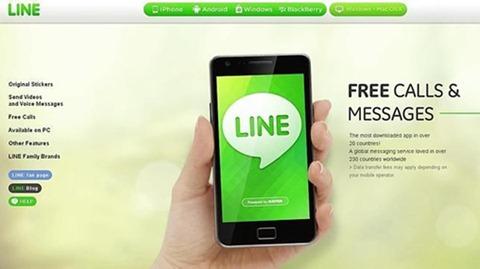 Line, la nueva amenaza de WhatsApp