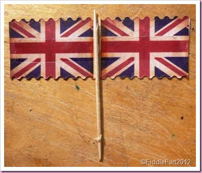 Mini Union Jack Flags