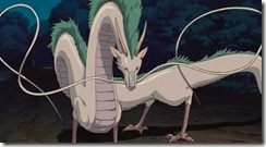 Spirited Away Dragon Haku