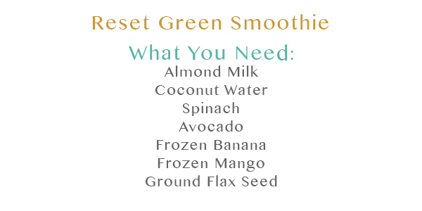 Refresh Green Smoothie