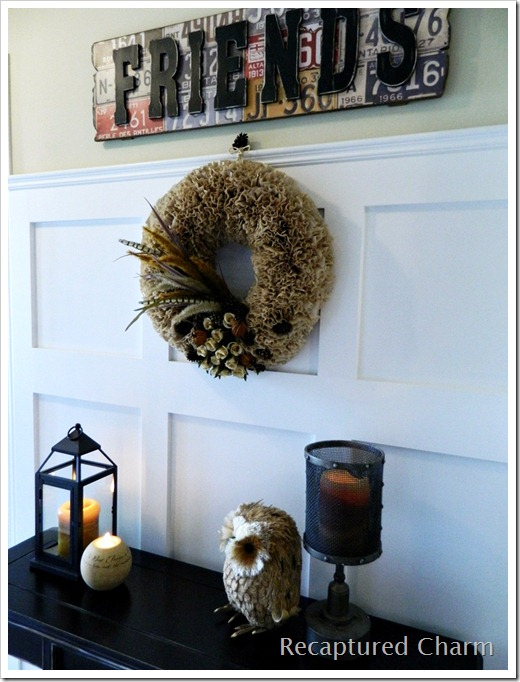 Fall Coffee Filter Wreath 049a