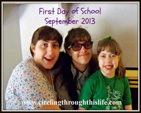 First Day Traditions Back to School Photos 2013