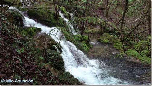 Cascadas de Andoin - Álava
