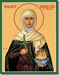 St Brigid Icon