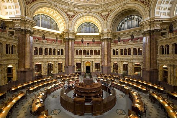 صور مكتبة الكونجرس