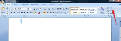 Windows Word Sök