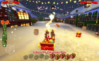 Screenshot of Santa Ride!