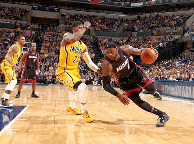 lebron james nba 140326 mia at ind 08 LeBron James Uses Safari Soldier 7s in a Loss vs. Pacers