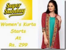Buy Buy Branded Women's Kurta At Flat 70% off at Myntra