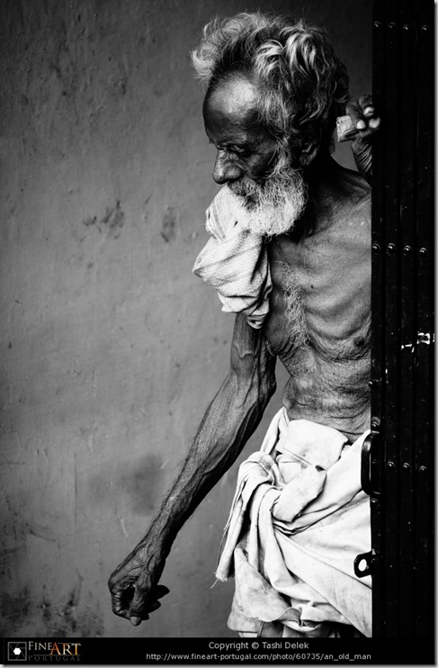 An old man © Tashi Delek