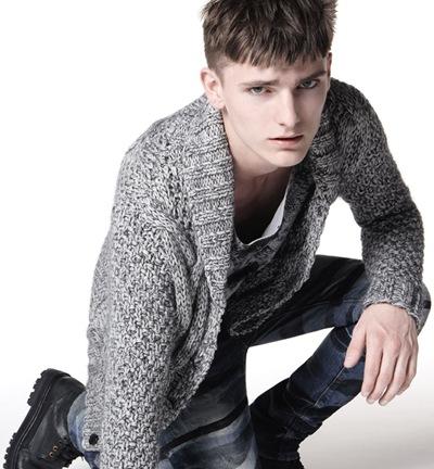 Alexander Beck by Milan Vukmirovic for BLACKBARRETT by Neil Barrett, F/W 2011 campaign
