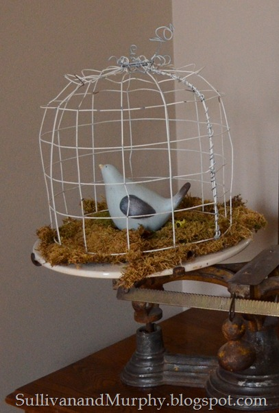 birdcage cloche